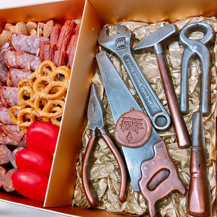 Choco tools & Savoury Gold Box