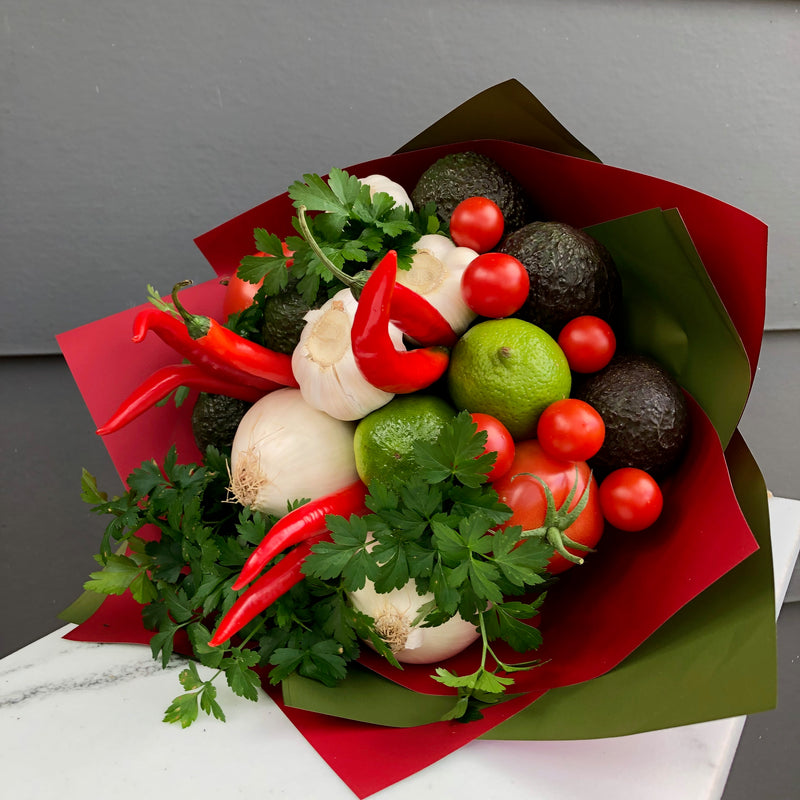 Guacamole Veggies Bouquet