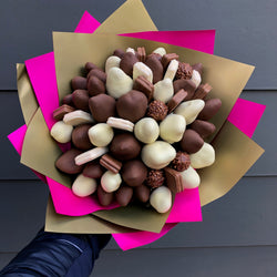 """Strawberry Fairy"" Chocolate Bouquet, Sweet Blooms Edible Gift, Adelaide delivery dessert"