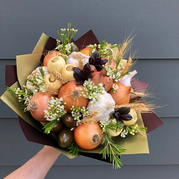 Rustic Barn Veggies Bouquet