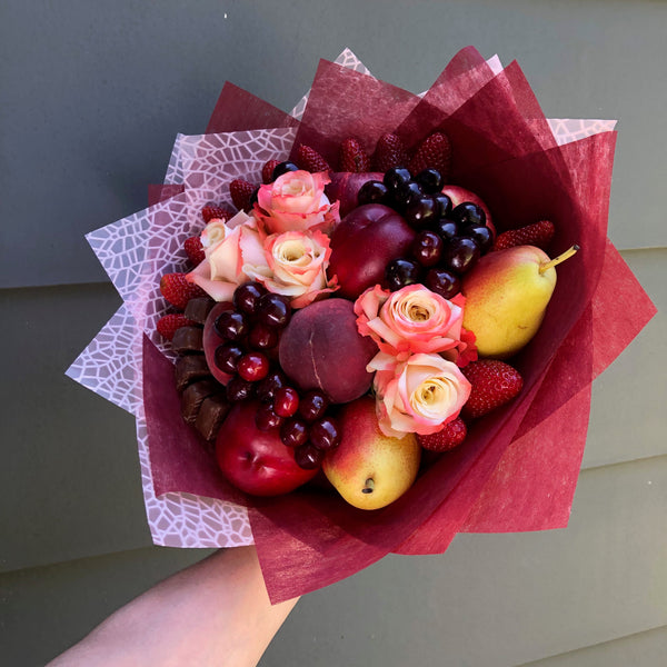 Cardinal Fruit Bouquet