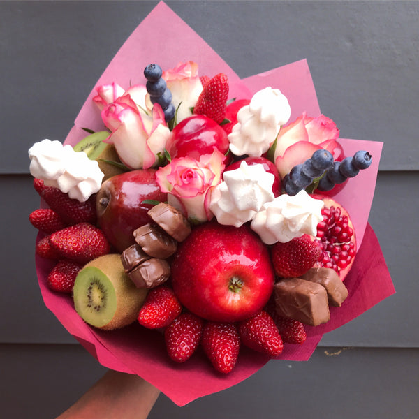Meringue Spear Fruit Bouquet
