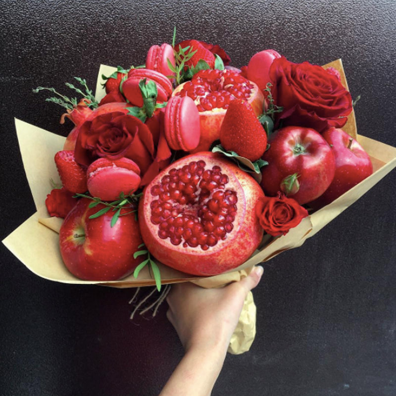 Lady in Red Fruit Bouquet