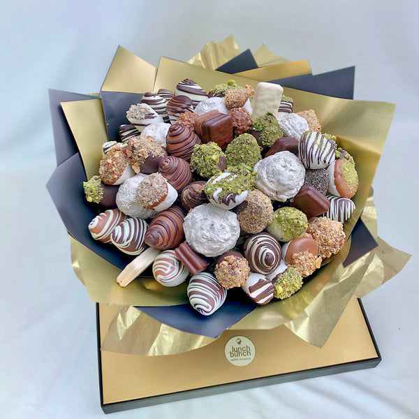 """Nuts About You"" Sweet Blooms Edible Bouquet"