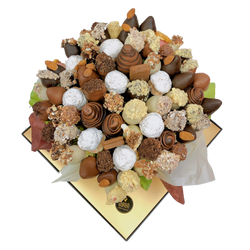 """Nuts About You"" Sweet Blooms Edible Bouquets"