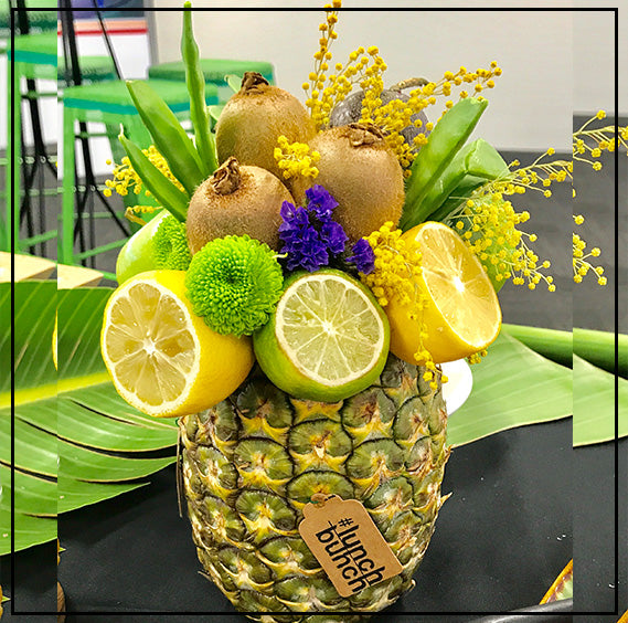 Edible Arrangement in a Pineapple Vase