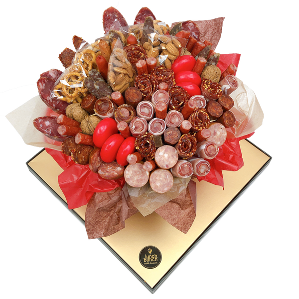 Prosciutto Roses Meat & Cheese Bouquet large