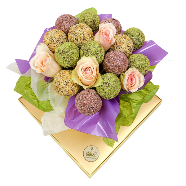 Vegan Friendly Protein Balls Bouquet
