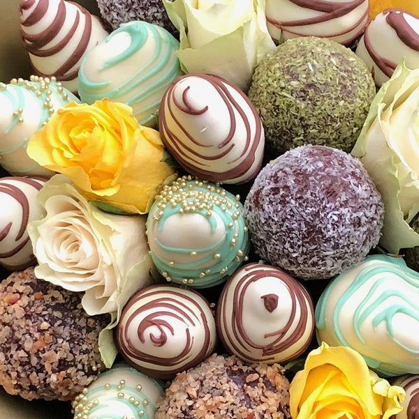 Protein Balls White Chocolate Fusion Bouquet