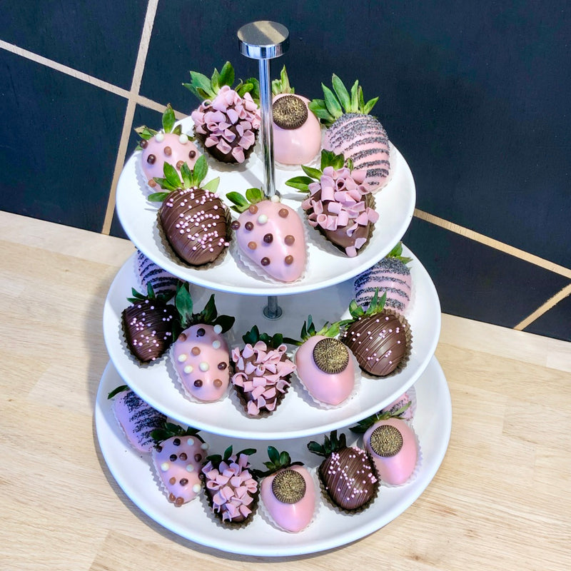Adelaide events catering chocolate dipped strawberry