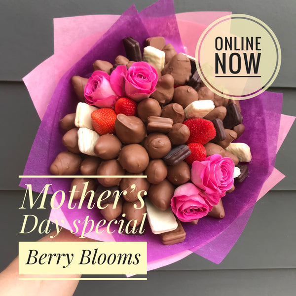 Berry Sweet Blooms Chocolate Bouquet