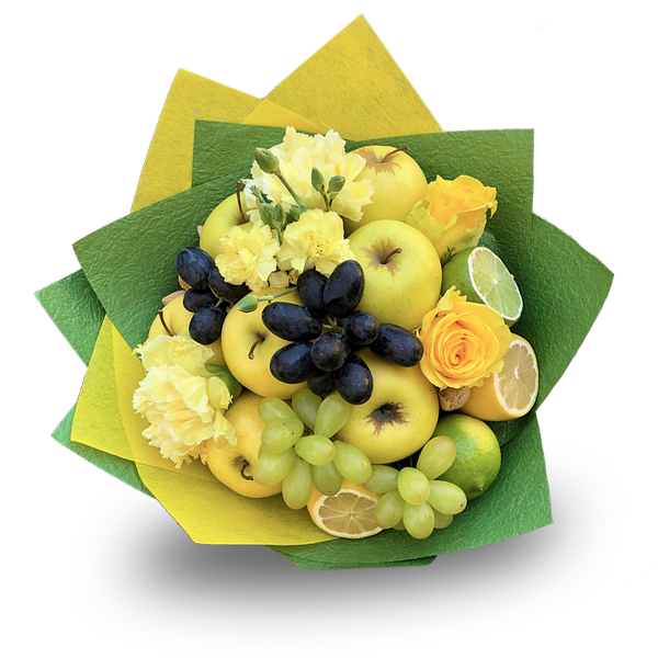Morning Ray Fruit Bouquet