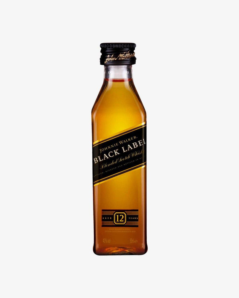 Johnnie Walker Black Label Scotch Whisky mini