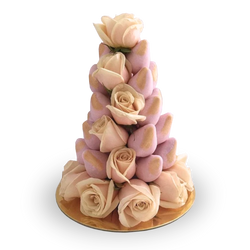 Light Pink Strawberry Tower