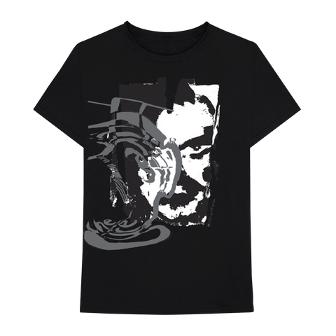 Mixed Up RS Painting Black Hi-Contrast Tee