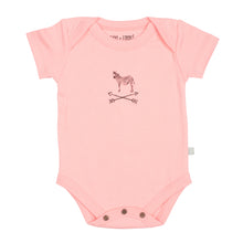 Organic Cotton Short Sleeve Bodysuit - Zebra