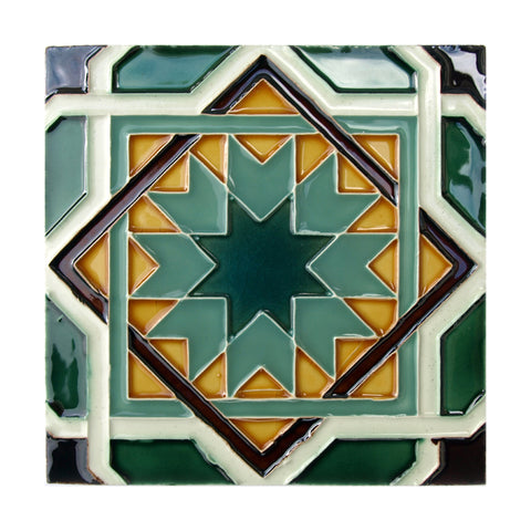 Handmade Hispano Arabic Replica Tiles 23