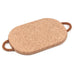 Cork Large Hot Pads with Rope Handle