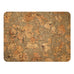 Cork Notice Pinboard Natural Pattern 600x450x18mm Fixings Included