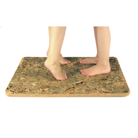 Luxurious Cork Shower Mat  600x450x18mm