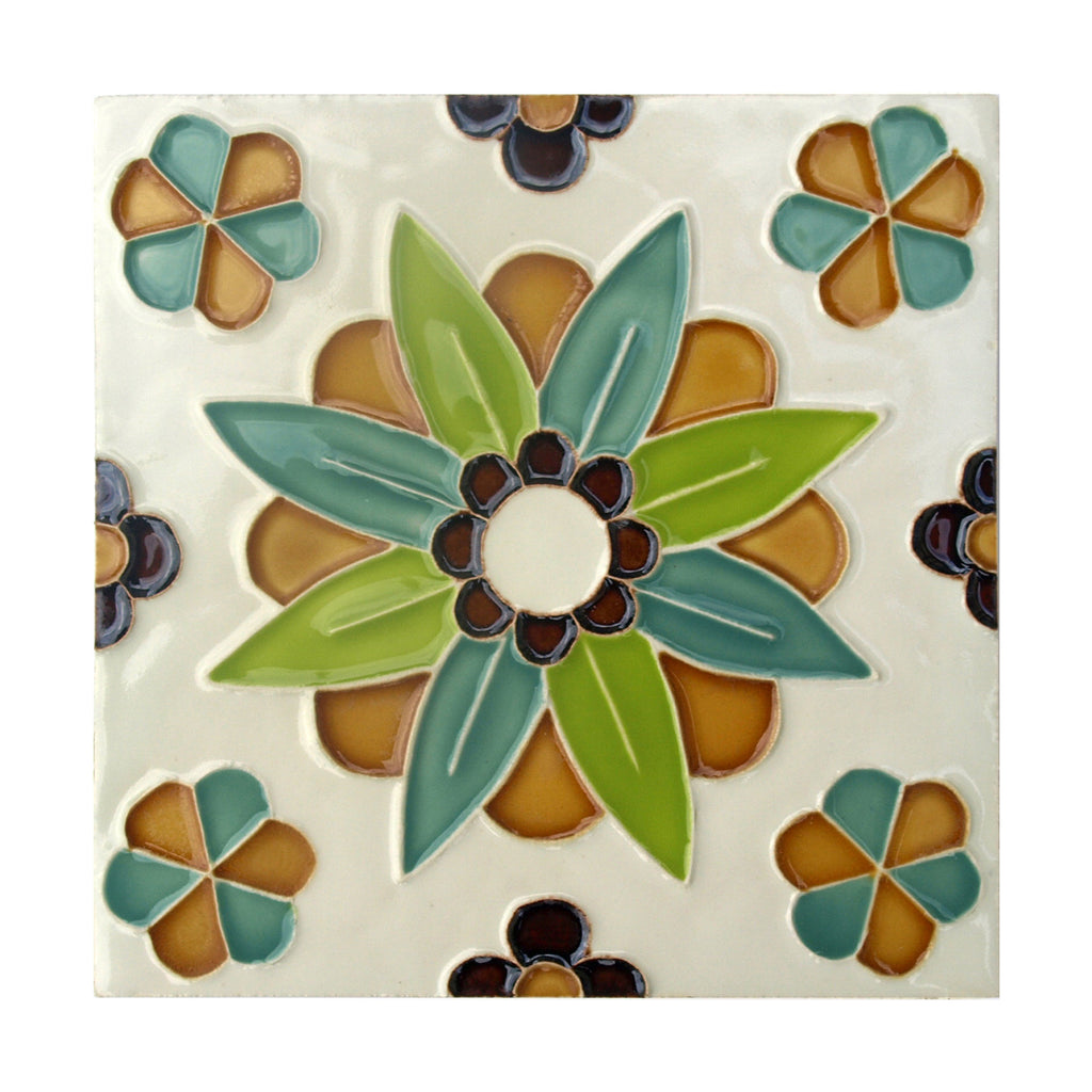 Handmade Hispano Arabic Replica Tiles 10