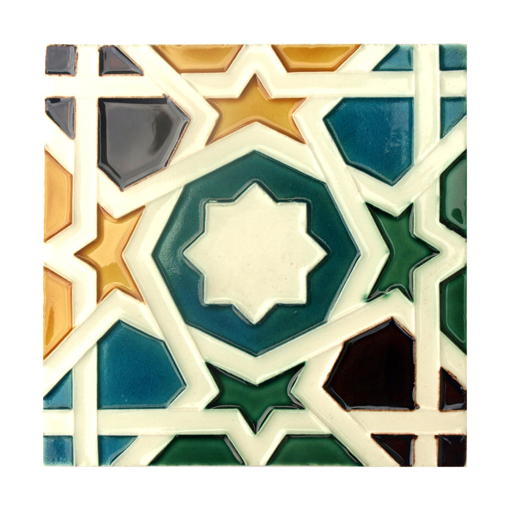 Handmade Hispano Arabic Replica Tiles 11