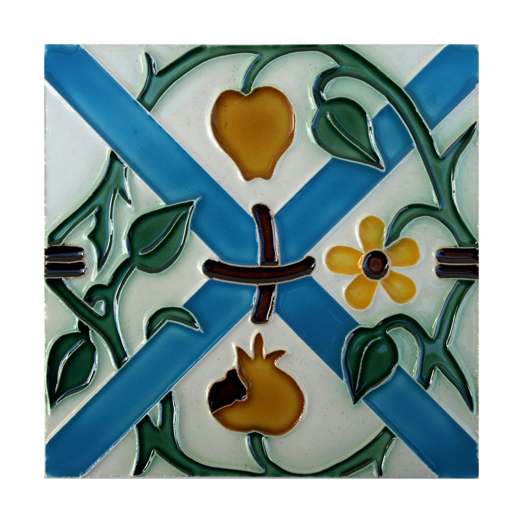 Portuguese Geometric Hispano-Arabic Replica Tiles T26