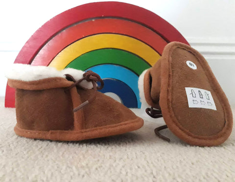 Babies and Toddlers Sheepskin Booties