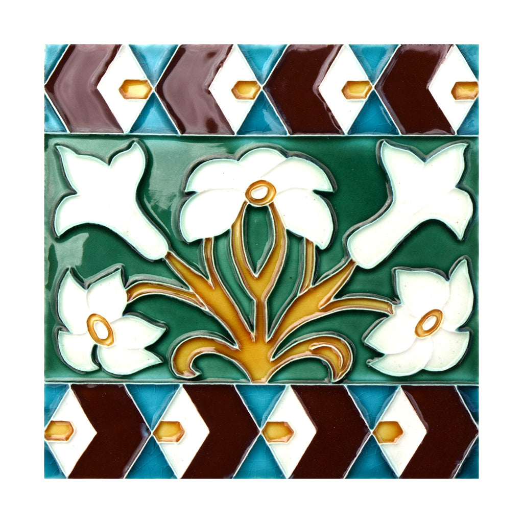 Handmade Hispano Arabic Replica Tiles 17