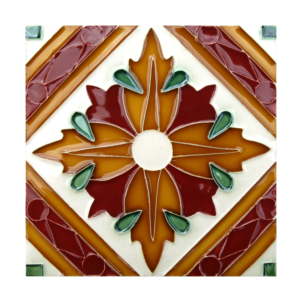 Handmade Hispano Arabic Replica Tiles 20