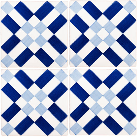 Hand Painted Portuguese Tiles - Tavira