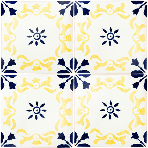 Hand Painted Portuguese Tiles - Espinho