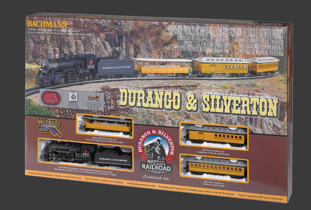 Bachmann HO Durango & Silverton Train Set