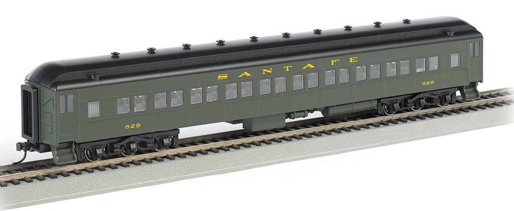 Bachmann HO 72' Heavyweight Coach, SF/Pullman Green