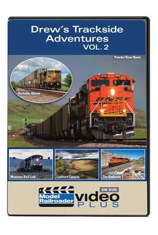 Kalmbach Publishing Drew's Trackside Adventures DVD - Volume 2