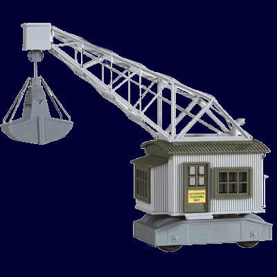 Model Power HO M. Walker & Son Sand & Gravel Rail Crane Kit