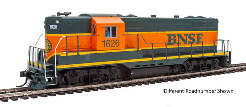 Walthers Mainline HO EMD GP9 Phase II with High Hood - Standard DC -- BNSF #1626