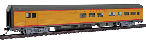 Walthers Mainline HO 85' Budd Baggage-Lounge - Ready to Run - Union Pacific (Armour Yellow, gray, red)