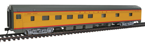 Walthers Mainline HO 85' Budd 10-6 Sleeper - Ready to Run - Union Pacific (Armour Yellow, gray, red)