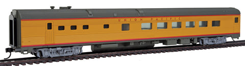 Walthers Mainline HO 85' Budd Diner - Ready to Run - Union Pacific (Armour Yellow, gray, red)