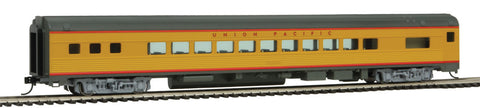 Walthers Mainline HO 85' Budd Small-Window Coach - Ready to Run - Union Pacific(R) (Armour Yellow, gray)