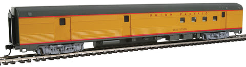 Walthers Mainline HO 85' Budd Baggage-Railway Post Office - Ready To Run - Union Pacific(R) (Armour Yellow, gray)