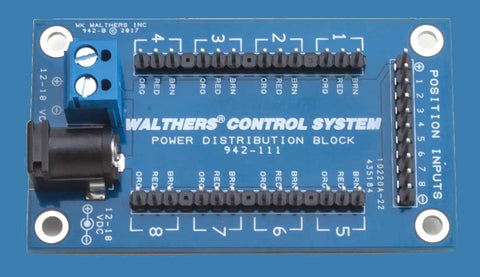 Walthers Layout Control System - Distribution Block