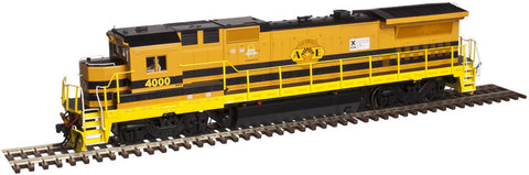 Atlas HO GE Dash 8-40B - Standard DC - Master Silver - Arizona Eastern #4008 (Orange, Black, Yellow)