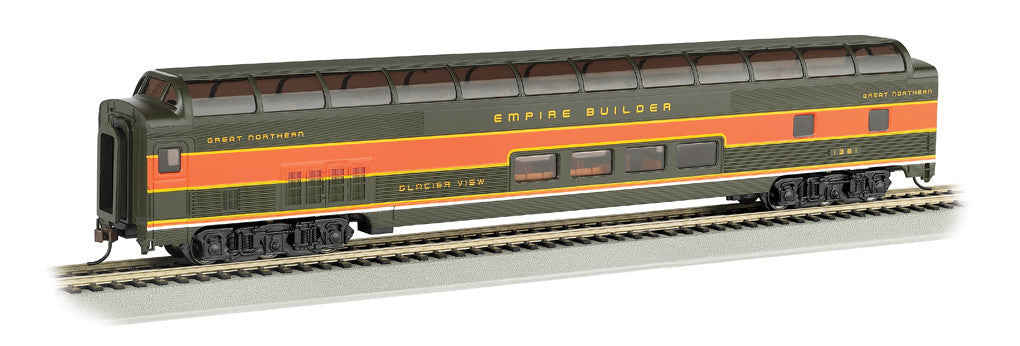 Bachmann HO 85' Budd Full Dome/Lighted, Great Northern