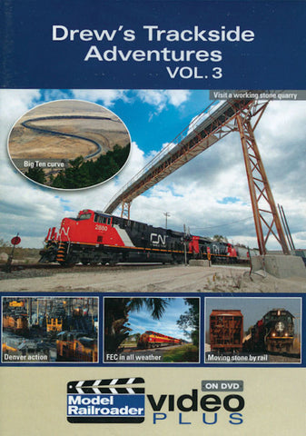 Kalmbach Publishing Drew's Trackside Adventures DVD - Volume 3