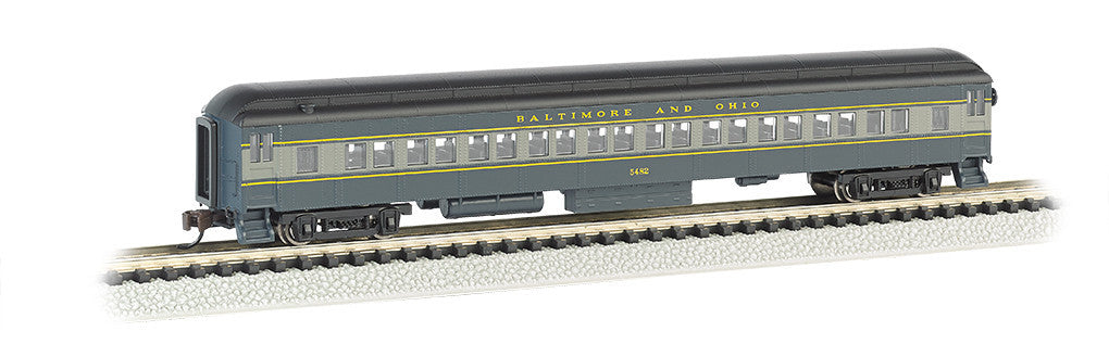 Bachmann N 72' Heavyweight Coach w/Lighting, Baltimore & Ohio®