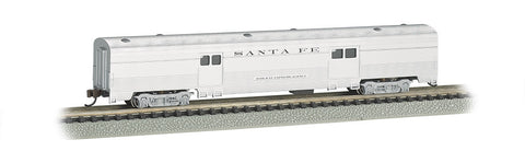 Bachmann N 72' Fluted Streamline 2-Door Baggage, Santa Fe