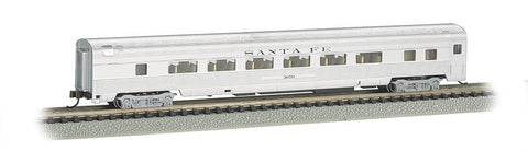 Bachmann N 85' Fluted Streamline Coach w/Lighting, Santa Fe