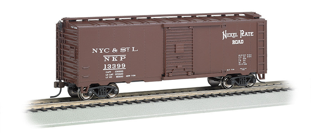 Bachmann HO 1930-1950 40' Box, Nickel Plate Road